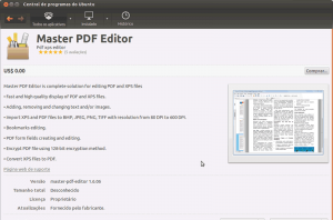 PDF no Linux - Master PDF Editor