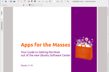 PDF no Linux - Master PDF Editor - Antes