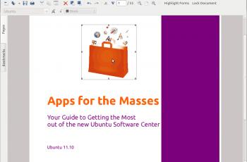 PDF no Linux - Master PDF Editor - Depois