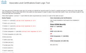 Requisitos para certificações Cisco