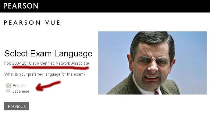 prova da Cisco em português